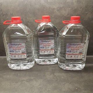 Destilliertes Wasser Frostschutz