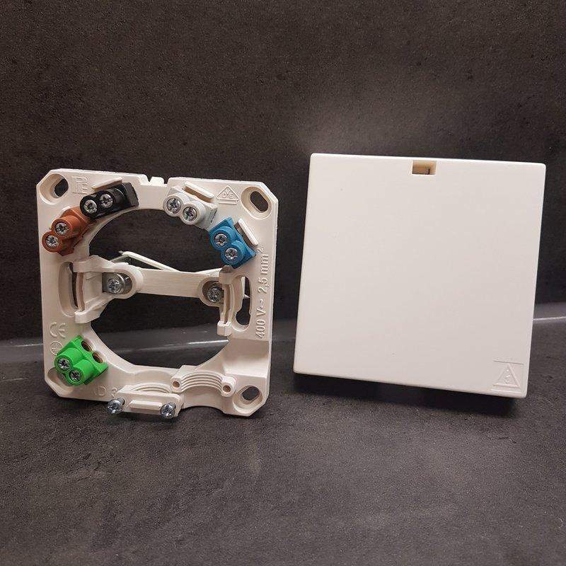 VDE Herdanschluss-Dose 5x2,5mm², 1,89 €