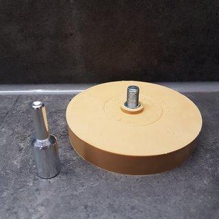 5 Radierscheiben Folienradierer mit  1 Adapter