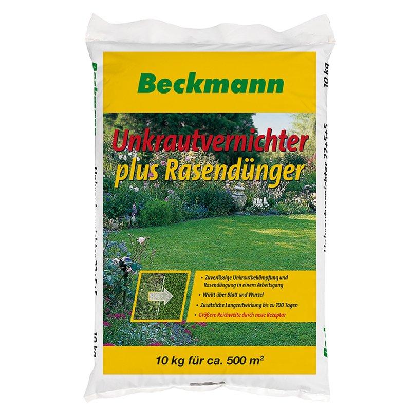 Beckmann Rasen D/ünger mit Langzeitwirkung 10 kg f/ür 300 m/²